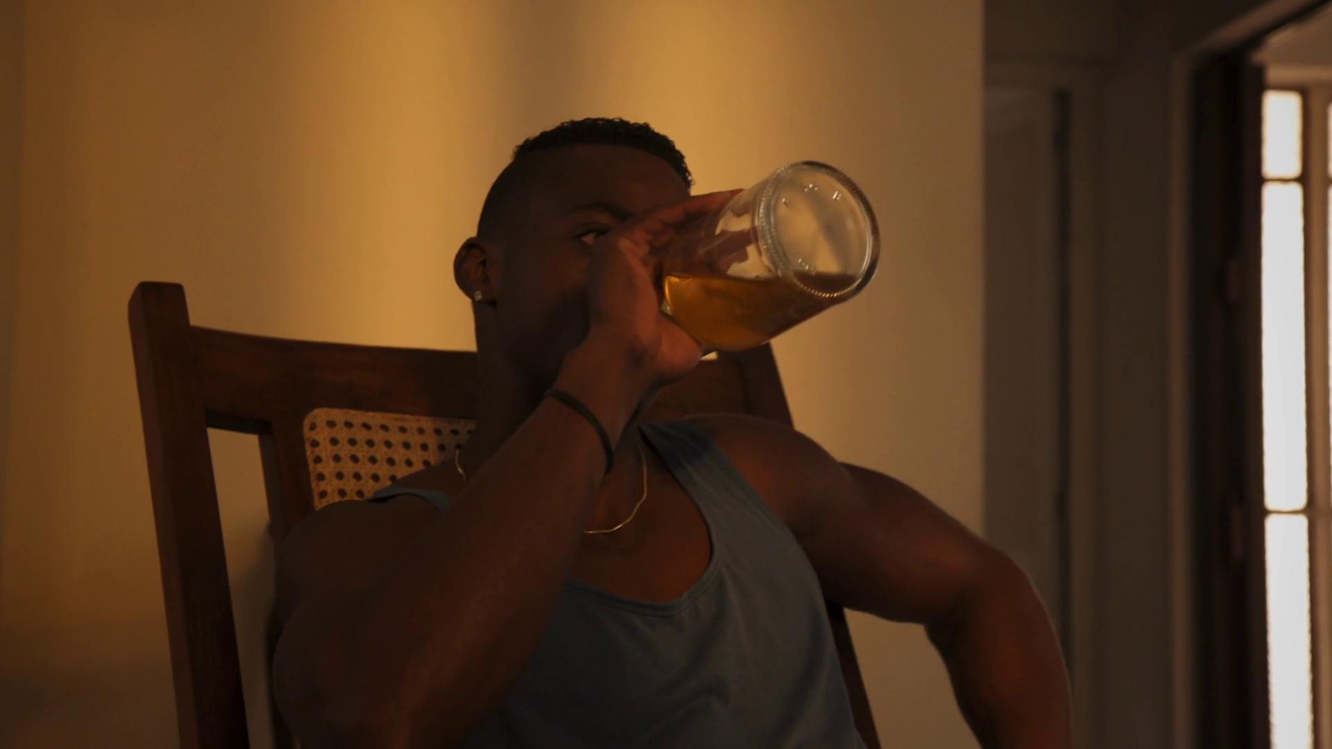 Image result for drinking vodka black man