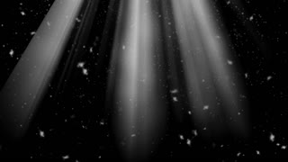 3d animation rays and snow falling from the sky. New Year's background. Transparent background with alpha channel. File format - mov. Codeck-PNG+Alpha