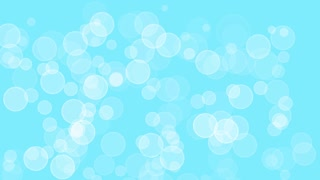 Abstract background  bokeh circles for Christmas background, blue,