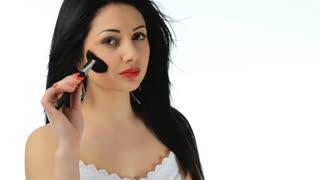 Girl doing make-up