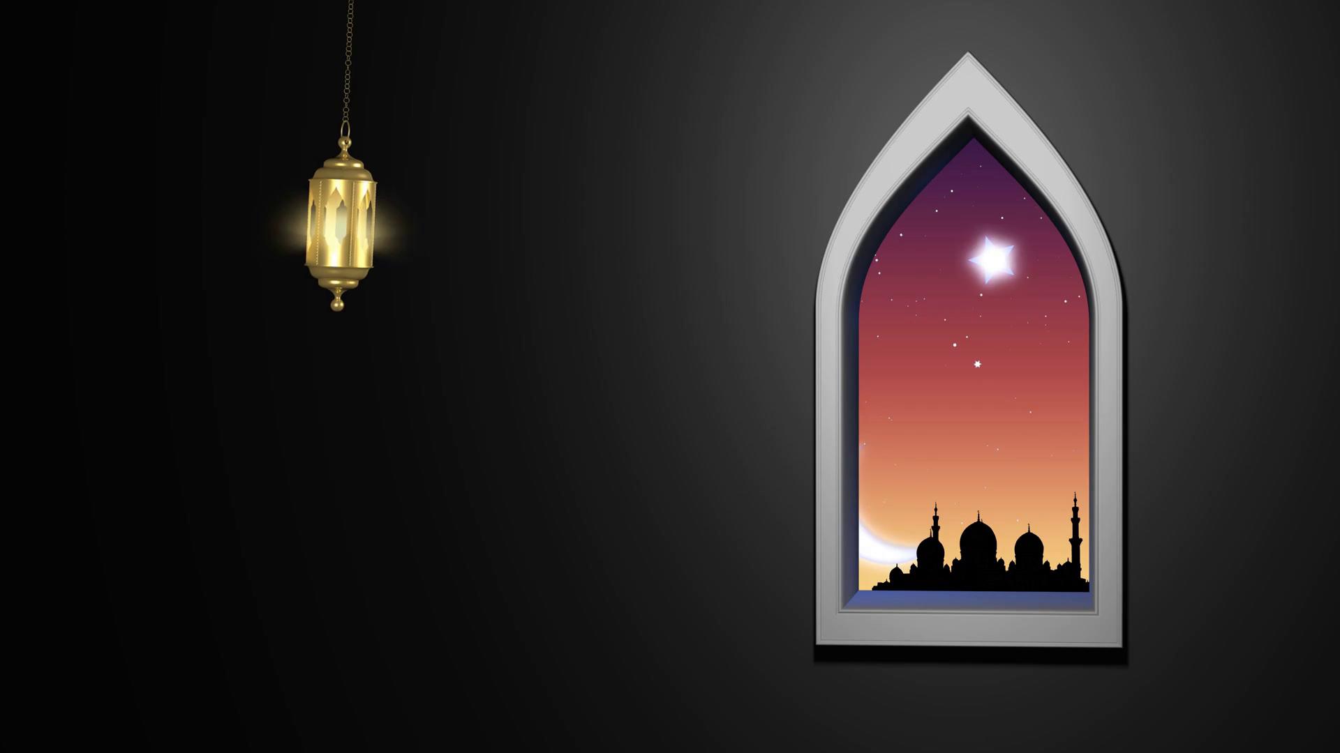 Ramadan Kareem Islamic Background. Stock Video Footage - Storyblocks