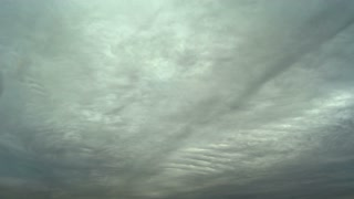 The picturesque cloud stream. time lapse