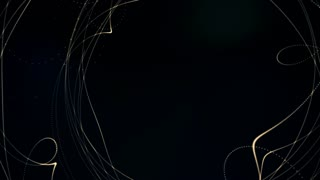 glowing waved lines, abstract background 4K