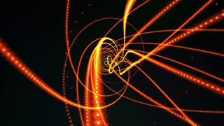 glowing waved lines, abstract background