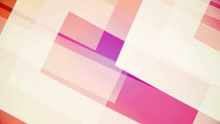 slow motion of colourful huge shapes, abstract video background of glassy and transparent surfaces