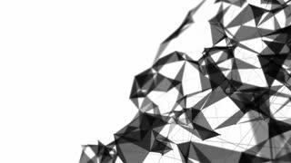 Black Plexus Background