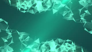 Green Plexus Background