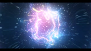 Cinematic Particle Logo Reveal