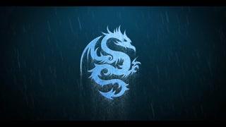 Thunderstorm Rain Metall Logo