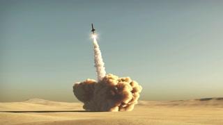 rocket start from desert