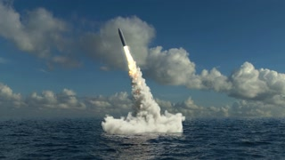 Underwater Missile Launch