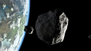 Asteroid in Earth orbit