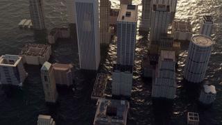 flooded metropolis