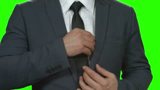 Money counting on chromakey background. Hands of businessman with cash. Pay the tax.