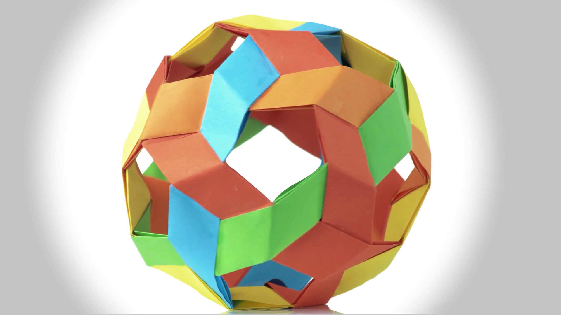 How to Make a transforming origami spikey ball | Origami, How to ... | 1080x1920