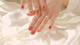 583ce7416b9da Extreme Close up of a beautiful women's diamond ring. 4K UHD. Stock Video  Footage - Storyblocks Video