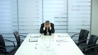 Frustrated boss remained alone. Business failed.