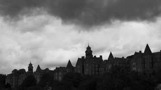 Psychiatric Hospital Cork. Ireland. Black and white