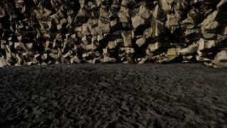Iceland Black Sand Beach Basalt Columns Cave 2