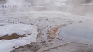 Iceland Boiling Water At Geothermal Pool 4