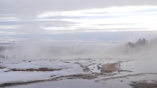 Iceland Boiling Water At Geothermal Pool 5
