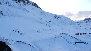 Iceland Winter View Of Guided Tours Of Glaciers 1