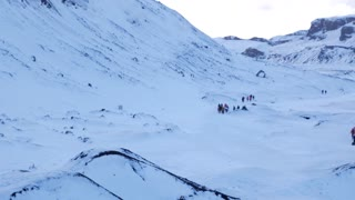 Iceland Winter View Of Guided Tours Of Glaciers 2