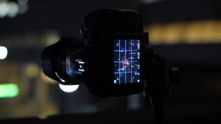 Night Time Taking Picture With Dslr On Tripod And Beautiful Bokeh 1