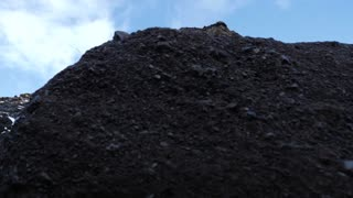 Revealing Mountain At Black Sand In Iceland 1