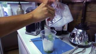process for preparing non-alcoholic mojito