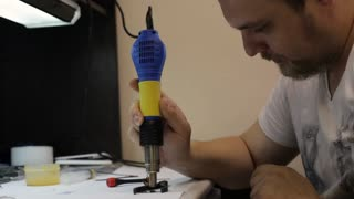 Repairing mobile phone with heating details