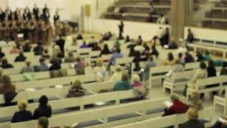 Blurred the Choir in the Church
