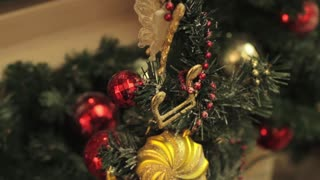 Christmas Tree Decorated Toys