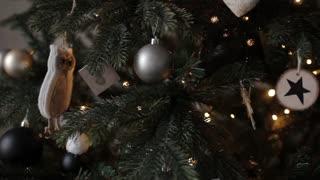 Christmas Tree Decoration Dark Toys
