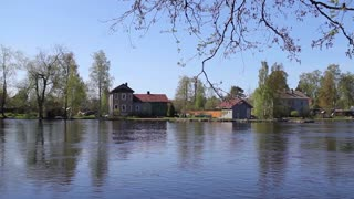 View of the Village by the Lake