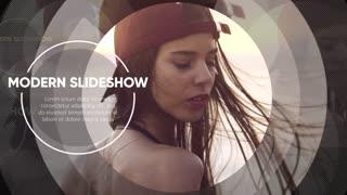 Modern Slideshow - Circle Promo