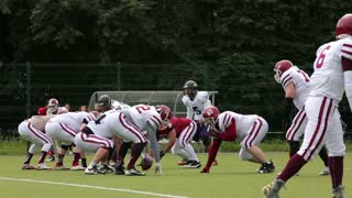 Players of American football team