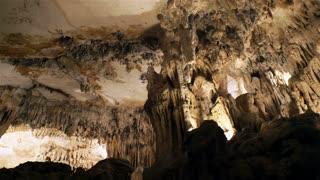 Stalactite stalagmite cave in Mallorca, Spain