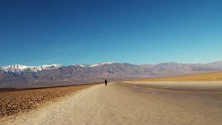 Tourist places on USA. Death Valley National Park