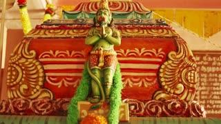 A Statue Of Lord Hanuman The Hindu Goddess Traditional Hindu Temple South India