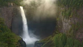 Helmcken Waterfalls 1, Wells Gray Provincial Park, B.C., Canada