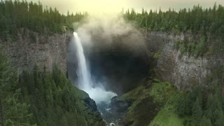 Helmcken Waterfalls 2, Wells Gray Provincial Park, B.C., Canada