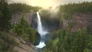 Helmcken Waterfalls 3, Wells Gray Provincial Park, B.C., Canada