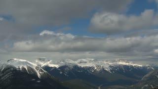 Massive Range time lapse, Banff, Alberta, Canada