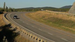 Truck on transcanada highway 1