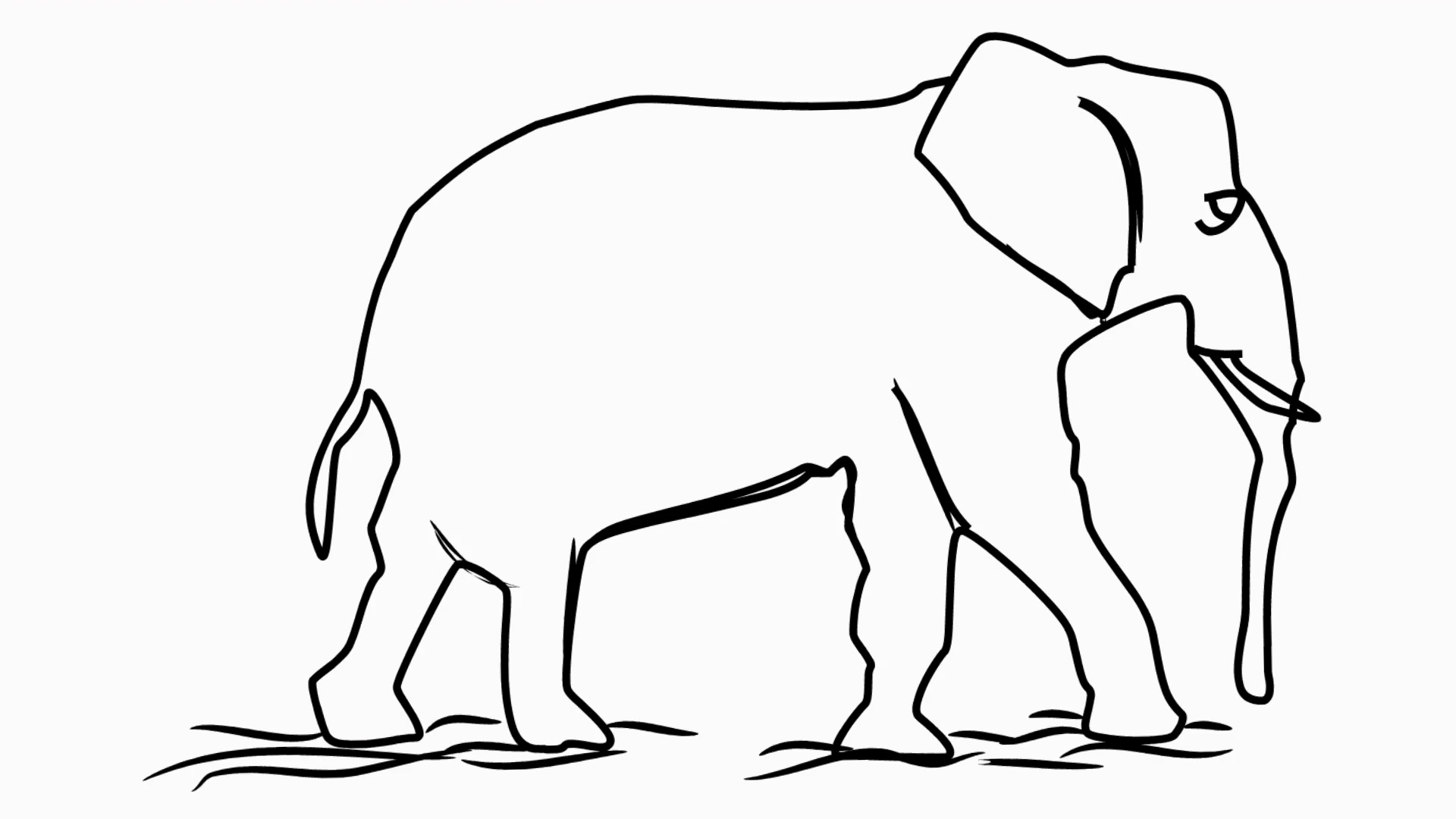 Elephant Line Drawing Png : Think of this elephant as a huge snowman this is the first drawing(that i have saved), of wrestler deonna purrazzo.