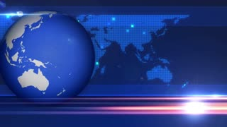 Globe Background News Animation