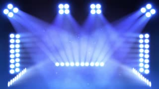 Movie lights stage Concert Lights background animation
