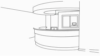 Reception sketch illustration hand drawn animation transparent
