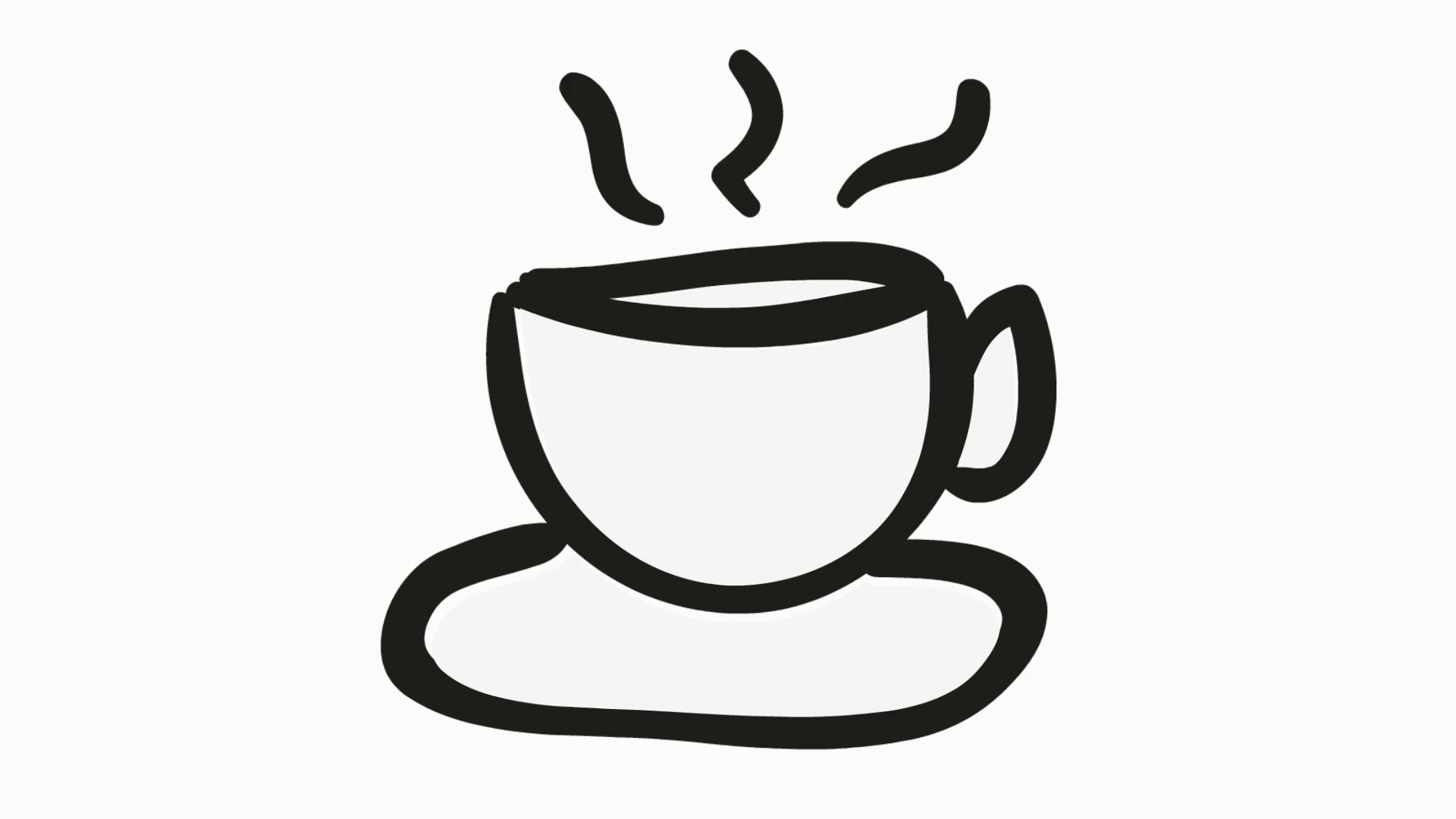 tea icon cartoon illustration hand drawn animation transparent motion background storyblocks tea icon cartoon illustration hand drawn animation transparent
